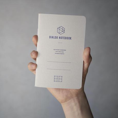 ダイアログノート(3冊パック)|DN002(ドット方眼)