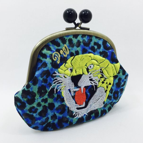 PUNCH TIGER (BL)|coin purse [DW2-4002]