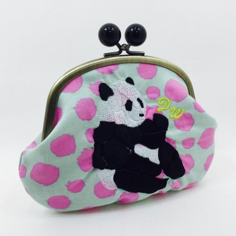 POWERFUL PANDA (IKURA)|coin purse [DW2-4004]