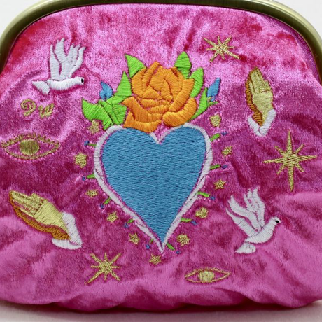 Love and Peace (PK)|Make-up pouch|velour [DW2-2011]