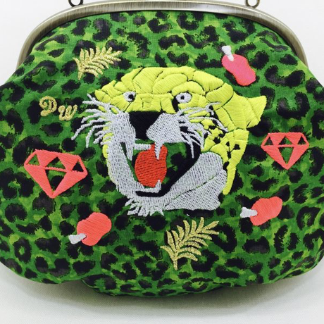 PUNCH TIGER (GR)|Make-up pouch [DW2-3007]