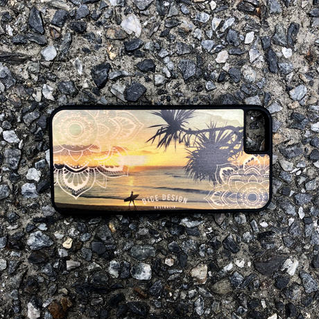 "Wood iPhoneケース ""Sunset"""