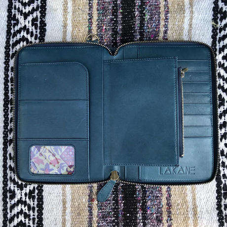 LΔKΔNΞ TEAL Clutch / Wallet