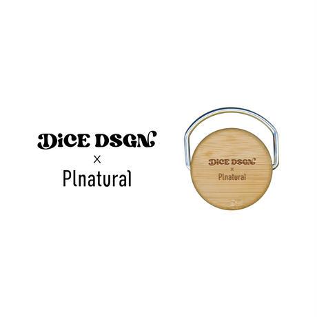 DiCE DSGN x Plnatural ステンレスボトル