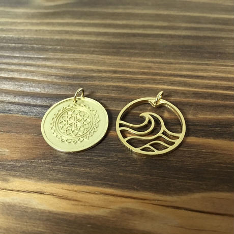 Nature & Wave Coin セット [真鍮]