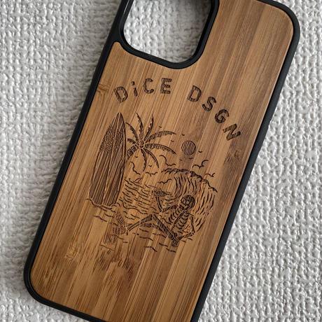 """Bamboo iPhoneケース """" Natural Paradise """""""