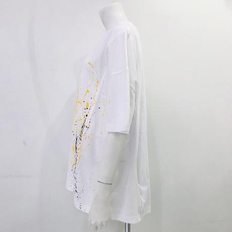 00○○ ペイントワイドTシャツ /2007-146