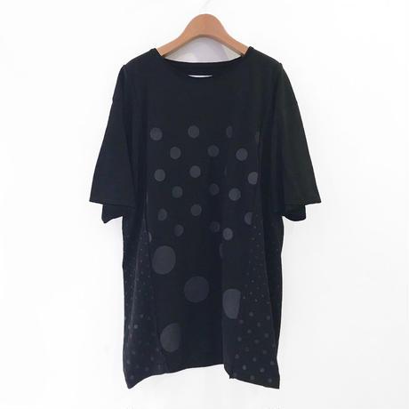 00○○ ドットTシャツ /1905-51 BLACK