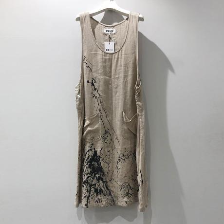 00○○ ペイントサロペットスカート /1907-255