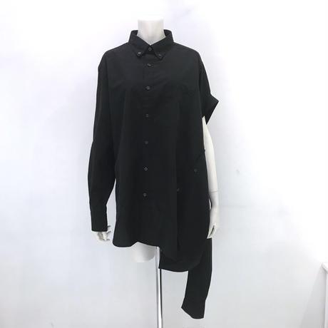 00○○ ツインシャツ /1910-05 BLACK