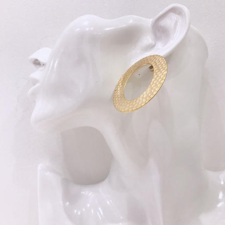 circle design pierce  / 11 #GOLD ※代引不可