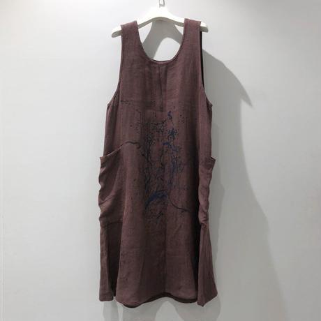 00○○ ペイントサロペットスカート /1907-250.