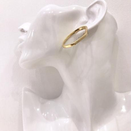 circle design pierce  / 16 #GOLD ※代引不可