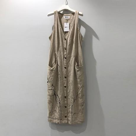 00○○ ペイントサロペットスカート /1907-254.