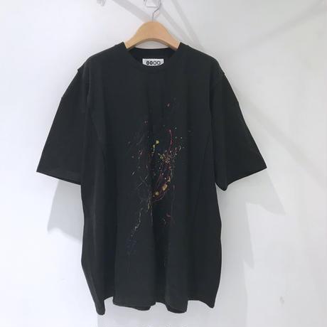 00○○ ペイントワイドTシャツ /1908-13