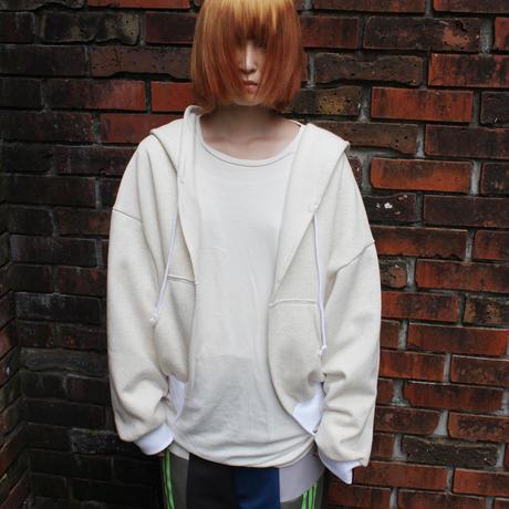 00○○ コットン裏起毛フォールパーカー ショート / 2010-134