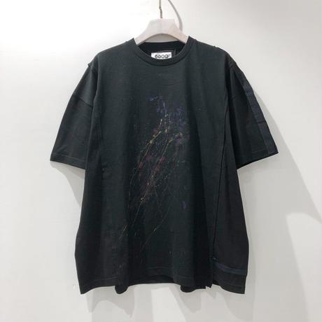 00○○ ペイントワイドTシャツ /1908-11.