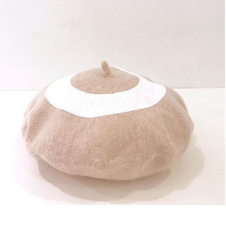 ○ベレー帽 BEIGE  / 1810-813