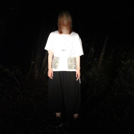 00◯◯ ジャージギャザーワイドパンツ  /2105-01