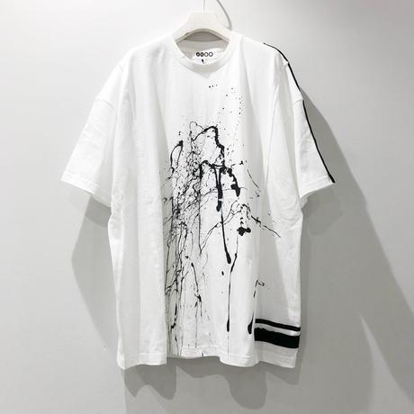 00○○ ペイントワイドTシャツ /1908-48.