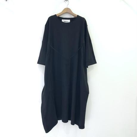 00○○ 変形XXXXXXLビッグS/Sカットソー /2106-09  BLACK