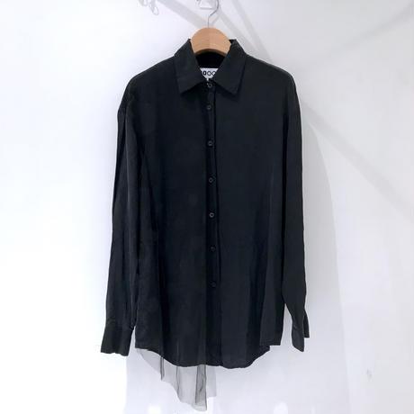 00○○ ドットチュールシャツ /1907-03