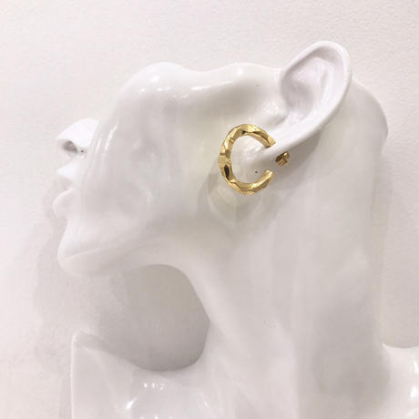 circle design pierce  / 42 #GOLD ※代引不可