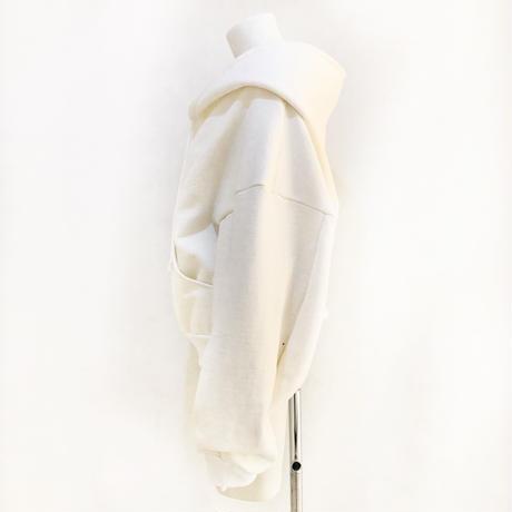 00○○ コットンボアフォールパーカー WHITE ショート / 2010-202