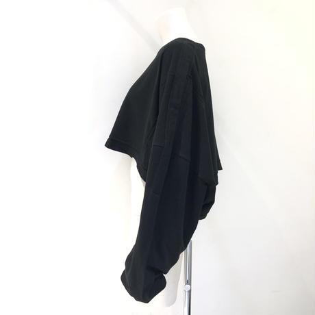 00○○ XXXXXXL L/Sショートカットソー /2106-11  BLACK