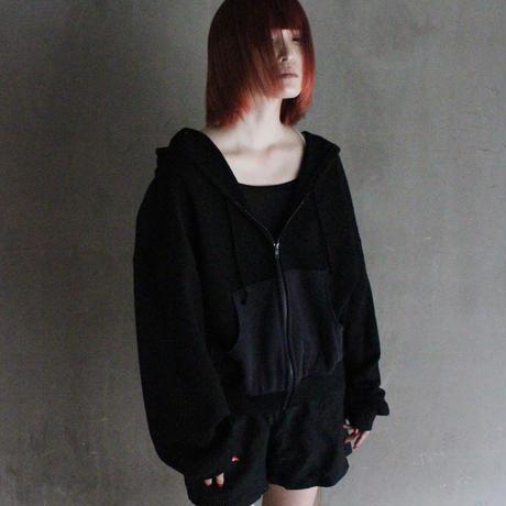 00○○ フォールパーカー BLACK ショート / 2010-200
