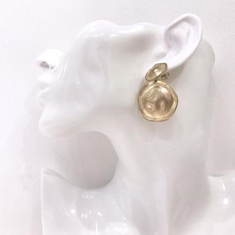 double design plate pierce  / 06 #GOLD ※代引不可