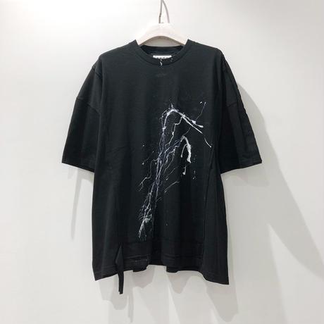 00○○ ペイントワイドTシャツ /1908-39.