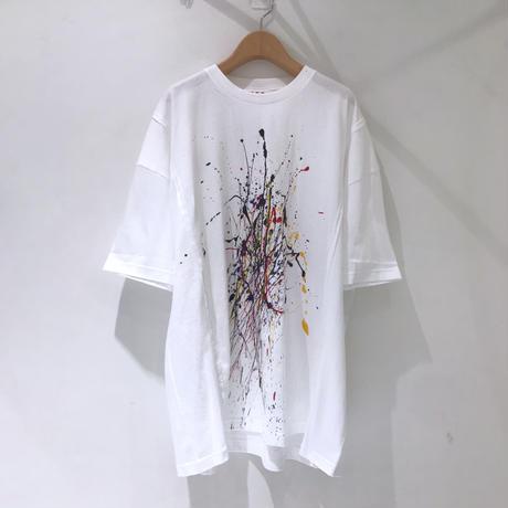00○○ ペイントワイドTシャツ /1908-19
