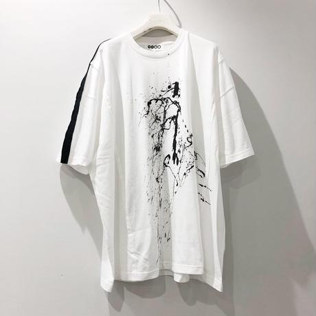 00○○ ペイントワイドTシャツ /1908-47.