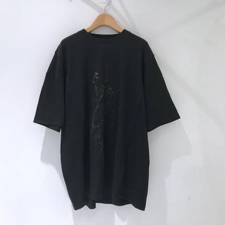 00○○ ペイントワイドTシャツ /1908-12