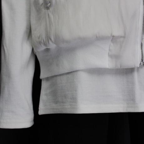 BLOUSON CUTSEW / 11 WHITE