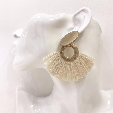 Fringe plate pierce  / 29 #GOLD ※代引不可