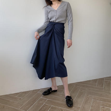 multi way long wrap skirt