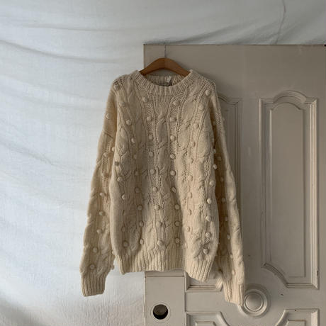 【vintage】wool knit