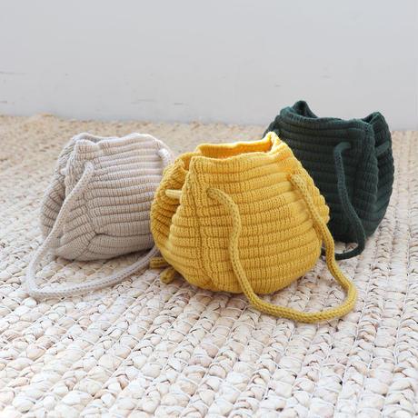 2way knit mini bag