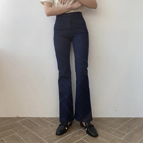 skinny flare stretch denim pt