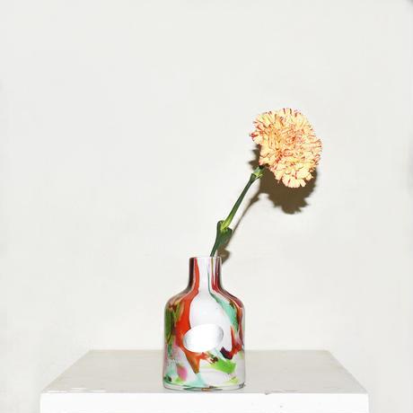 Marble Cylinder Flower Vase(W7.5×H12)/MULTI