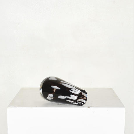 Marble Cylinder Flower Vase(W7×H14)/BLACK