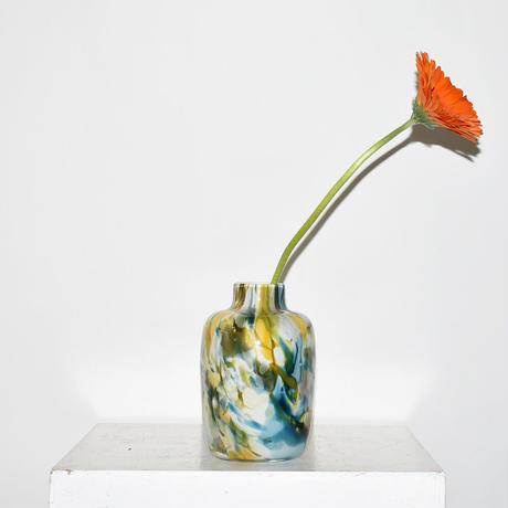 Marble Flower Vase(W10×H16.5)/GREEN