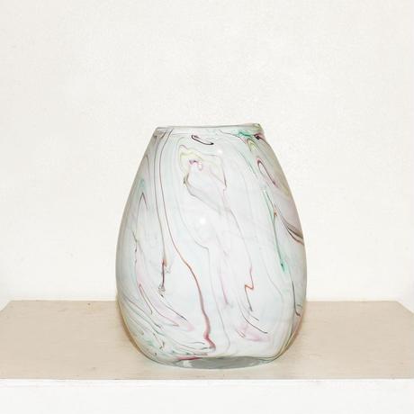 Marble egg  flower vase(W15×H18.5)