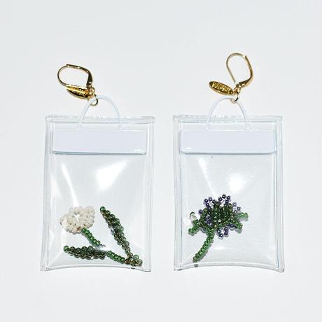Clear Bag Pierce/PURPLE