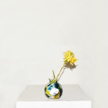 Mini Ball  Flower Vase(W8×H9)/GREEN