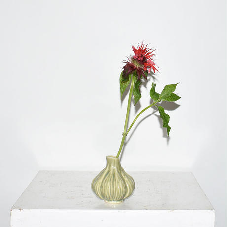 Ceramic Bulbs vase(W9×H9)/GREEN