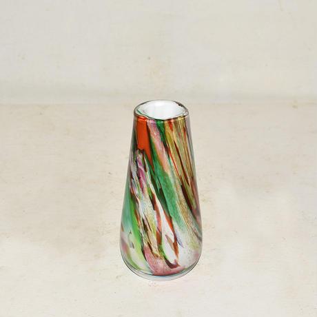 Marble cylinder flower vase(W7×H14) /MULTI
