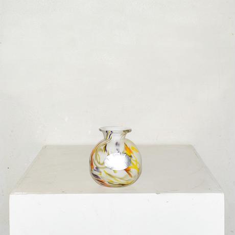 Mini Ball  Flower Vase(W8×H9)/WHITE